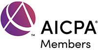 AICPA The American Institute of Certified Public Accountants Logo
